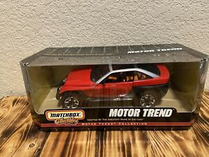Matchbox Motor Trend 1:18 Jeepster Concept RED #37787