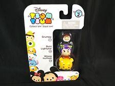 Disney Tsum Tsum Figure 3-Pack: Series 2 Grumpy 207 Buzz Lightyear 238 Pooh 148