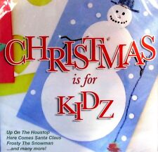 Christmas is for Kidz Holiday Music Cd Rudolph, Santa Claus, Frosty, Sealed