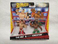 WWE Wrestling Rumblers Series 1 The Miz & Kofi Kingston Mini Figure 2-Pack NEW!