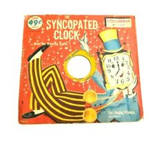 RARE THE SYNCOPATED CLOCK ca 1950 SINGING PRINCESS Columbia 45 ORIGINAL SLEEVE