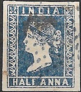 India 1854  SG6  F.Used Cat £130    (1)