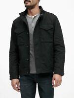 NWT Banana Republic XS Black Water Resistant Field Jacket