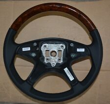 NEW OEM Mercedes Benz W204 C-Class WOOD Leather Steering Wheel 2044602003