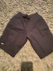 Under Armour Navy Blue Gym Jogger Shorts (Small)