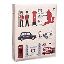 London Icons Self Adhesive 3-Ring Binder Photo Album 40 Sheet/ 80sides  AL-9166