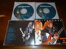Whitesnake / Monsters Of Rock - Live 1990 ORG Steve Vai 2CDBOX *O