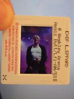 Original Press Promo Slide Negative - Def Leppard - Joe Elliott - 1990's -Purple