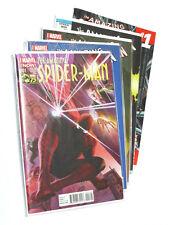 The AMAZING SPIDER-MAN/SPIDERMAN #1 (2014) 5x 001 Variant Edition Bundle
