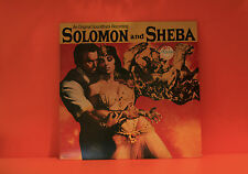 SOLOMON & SHEBA - MARIO NASCIMBENE - EPIC SOUNDTRACK - NM LP VINYL RECORD -T