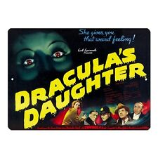 "Dracula's Daughter 1936 Vintage Movie Poster Mini 5"" x 7"" Metal Sign"