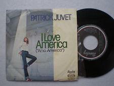PATRICK JUVET I Love America SPAIN 45 1978