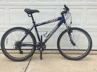 Specialized Hardrock Mountain Bike with 24 Speed Shimano Acera/Ci-Deck Shifting