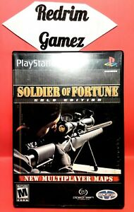 Soldier Of Fortune Gold Edition PS2 Video Games