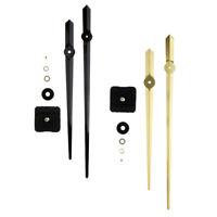 Wall Clock Quartz Movement Mechanism Gold/Black Hands DIY Repair Parts Kit