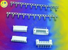 KIT 2x BUCHSE + STECKER 8 polig + CRIMPKONTAKTE Connector 2mm PCB Gerade #A1580