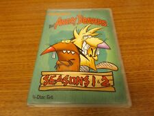 The Angry Beavers Seasons 1 & 2 on DVD 4-Disc Set in original case - NICE!