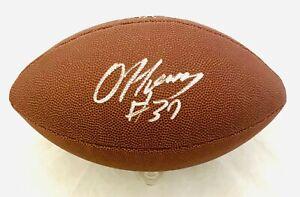 DAMIEN HARRIS AUTOGRAPHED SIGNED NFL FOOTBALL w/ BECKETT COA #WF24485