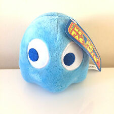 Pac-Man Plush 5 ''. Licensed. Brand New Blue Ghost Bashful Inky  toy.USA sell