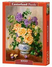 "Castorland Puzzle 1000 Pieces - FLORAL - 27x18.5"" Sealed box C-103928"
