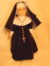 "1996 Chadwick-Miller 16"" Genuine Porcelain Nun Doll - No. 31257 On Box"