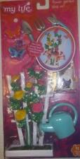 "My life as Flower Garden play set fits 18""American Girl doll Blaire 11pc."