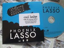 Wolfgang Amadeus Phoenix LASSO V2 Records UK Promo CD Single