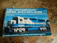 Contemporary Diesel Spotter's Guide Paperback Jerry Pinkepank