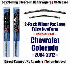 2pk Super-Premium NeoForm Wipers fit 2004-2012 Chevrolet Colorado 16220/190