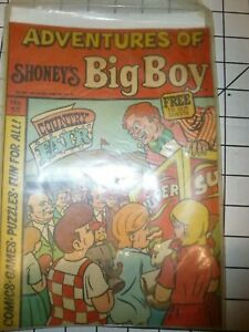 Vintage Shoney's Adventures of Big Boy #55 Comic