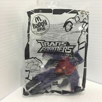 Transformers McDonalds Happy Meal #4 Starscream 2008 New in Package Poseable