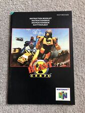 Blast Corps **Instruction Manual Only** Nintendo 64 N64