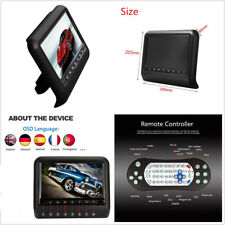 9'' HD LCD Screen Vehicles Headrest DVD Player Monitor HDMI USB + Remote Control