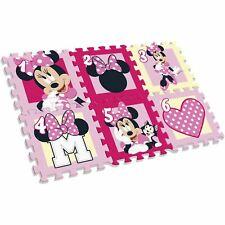 Disney Minnie Mouse Tapis de Jeu Mousse Puzzle 6 Pièces Lavable