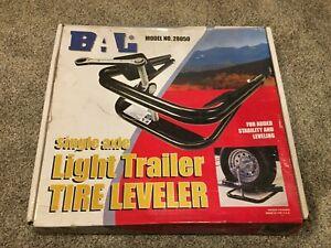 "BAL Model 28050 Single Axle Light Trailer Tire Leveler 13"" 14"" 15"" Camper wheels"