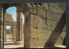 Egypt Postcard - Luxor Temple, Relief In The Forecourt   B3059