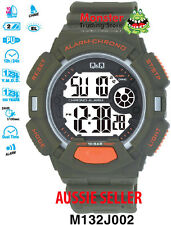 AUSSIE SELLER GENTS DIGITAL WATCH CITIZEN MADE M132J002 100M WARRANTY