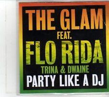 (DS161) The Glam ft Flo Rida, Trina & Dwaine, Party Like A DJ - 2012 DJ CD