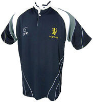 Scotland Lion Rampant Breathable Rugby - Live for Rugby Shirt Size XS-3XL
