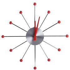 Moderno Diseño Retro Reloj de pared con Mecanismo de cuarzo