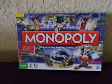 USED MONOPOLY Disney EDITION 2009 HASBRO GAME MICKEY MOUSE DONALD DUCK