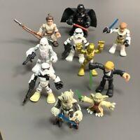 Lot 10Pcs Playskool Star Wars Galactic Heroes Jedi Force Snow Trooper Figure Toy