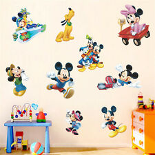 DIY Mickey Mouse Minnie Wall Decals Sticker Mural Kids Child Room Decor Vinyl