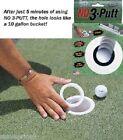 No 3 Putt trou Réducteur Golf balle d'entraînement Putting aide