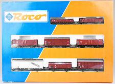 ROCO Spur H0 44002 Güterwagen-Set, 8 Wagen (2-achsig), DB, Ep. III+IV, OVP, KKK
