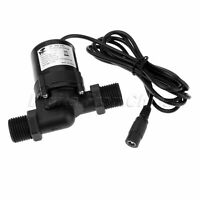 PC 6-12V Hot Water Circulation Pump Brushless Motor Pump Wire w Female Interface