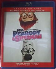 Mr. Peabody & Sherman (Blu-ray/DVD only, no 3D or digital copy) Deluxe Edition.