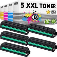 5x TONER für SAMSUNG CLP680DW CLP680ND CLX6260FD CLX6260FR CLX6260FW CLX6260ND
