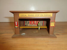 "AMERICAN FLYER / MINICRAFT S GAUGE # 271 WAITING STATION ""LOCAL TRAINS STOP"""