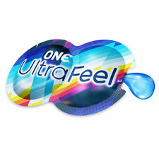 ONE ULTRA FEEL Condom & Lube - 2-in-1 Pack ~ 50 Pack ~